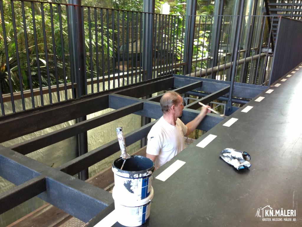 KN Måleri bilder måleriprojekt invändig målning Utvändigt måleriarbete ad7271ccb805b